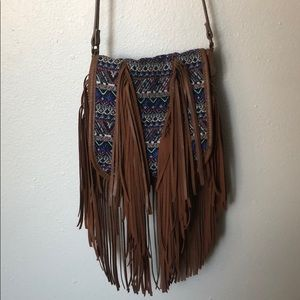 Madden Girl Boho Fringe Bag